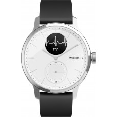Умные часы Withings ScanWatch 42мм with silicone band White