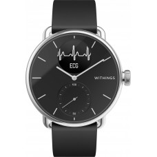 Умные часы Withings ScanWatch 38мм with silicone band Black