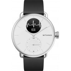 Умные часы Withings ScanWatch 38мм with silicone band White