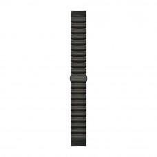 Garmin Ремешок сменный Quickfit 22 мм (титаново-силиконовый) серый DLC