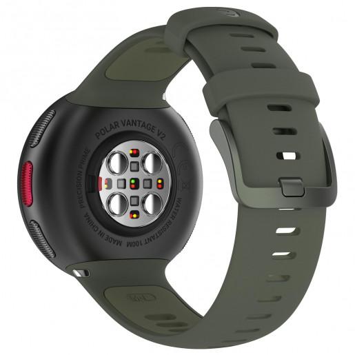 Часы Polar Vantage V2 Green с датчиком H10