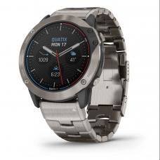 Часы Garmin Quatix 6X Solar титановый с титановым ремешком