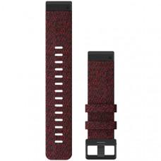 Garmin Ремешок сменный QuickFit 22 мм (нейлоновый) Heathered Red