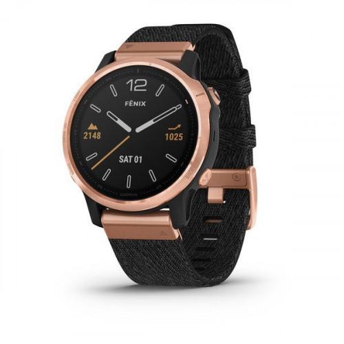 Часы Garmin Fenix 6S Sapphire с нейлоновым ремешком