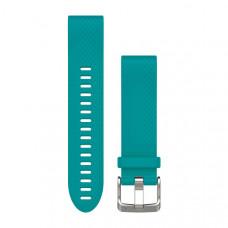 Garmin Ремешок сменный QuickFit 20 мм (уретан) бирюзовый