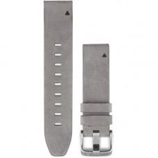 Garmin Ремешок сменный QuickFit 20 мм (кожаный) Gray Suede
