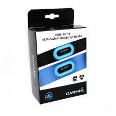 Garmin HRM Tri + HRM Swim - комплект мониторов сердечного ритма (пульсометров)