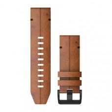 Garmin Ремешок сменный QuickFit 22 мм (кожаный) коричневый, ореховый