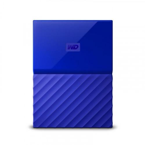 Внешний жесткий диск WD My Passport 4TB, Blue Синий