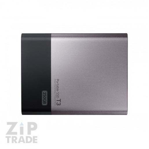 Samsung Portable SSD T3 250 Гб серебристый