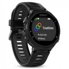 Часы Garmin Forerunner 735XT черно-серые