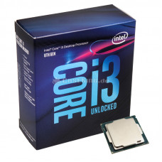 Процессор Intel Core i3-8350K Coffee Lake (4000MHz, LGA1151 v2, L3 8192Kb) BOX