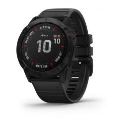 Часы Garmin Fenix 6X Pro черный с черным ремешком