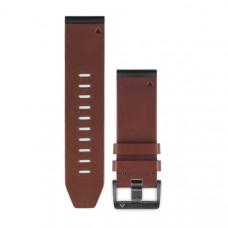 Garmin Ремешок сменный QuickFit 26 мм (кожаный) коричневый