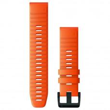 Garmin Ремешок сменный QuickFit 22 мм (уретан) оранжевый ember