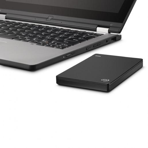 Seagate 2TB Backup Plus Portable Hard Drive Black