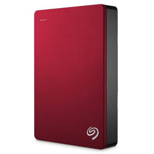 Seagate 4TB Backup Plus Portable Hard Drive Red