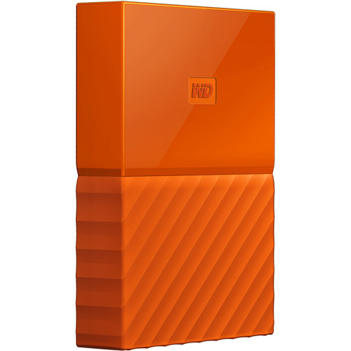 WD My Passport 2TB Orange